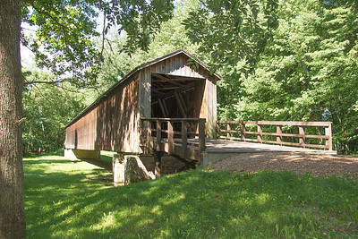 Covered Bridge Lynn Co. Mo.