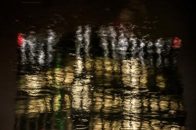 Boston Waterfront at Night 2
