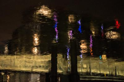 Boston Waterfront at Night 1