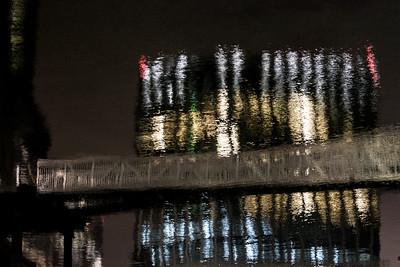 Boston Waterfront at Night 3