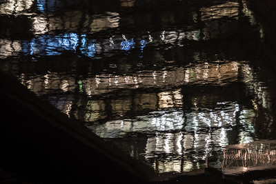 Boston Waterfront at Night 5