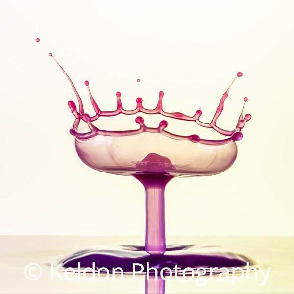 Purple Goblet