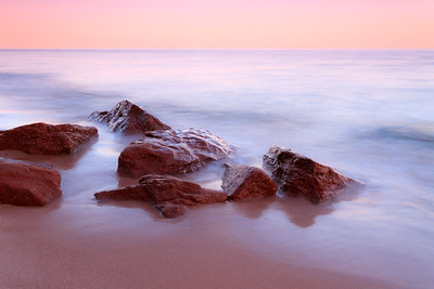 Red Sand Rocks