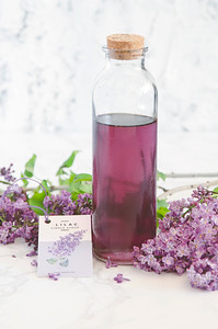 Lilac Syrup