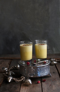 Eggnog with Saffron