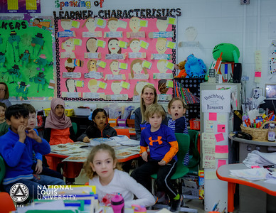Lisa Buchholz   March 21, 2018   Golden Apple Surprise Visit   Abraham Lincoln Elementary