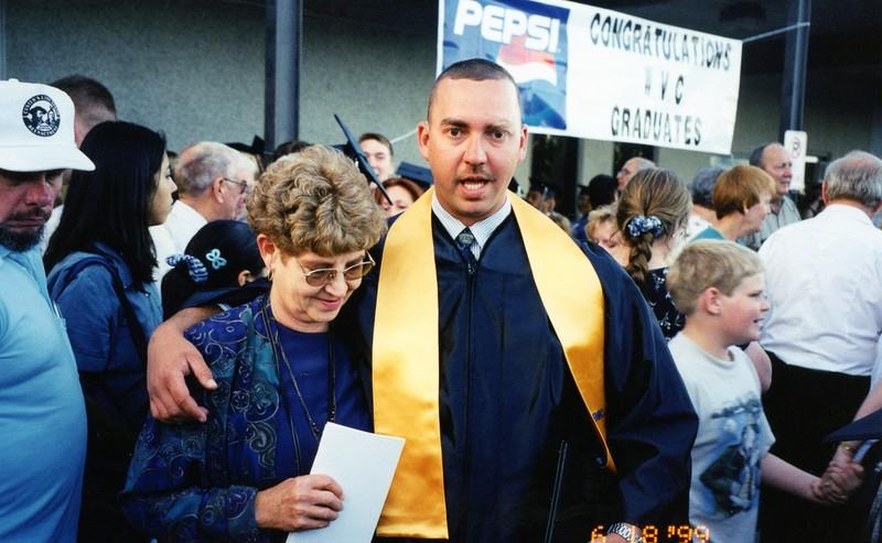 James Porter WVC Graduation