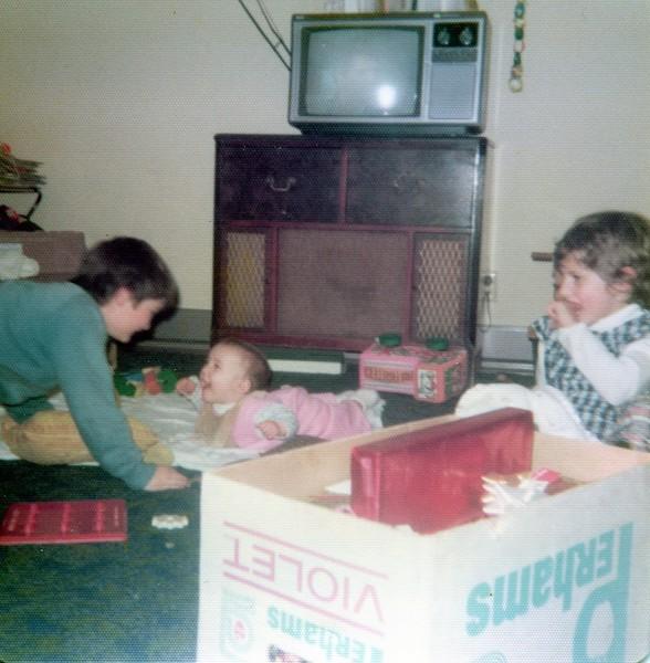 Paul, Jana (6 mos.) and Lisa