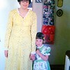 Colleen and Lisa, Easter 1975