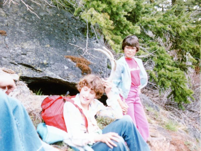 Lisa on the Blewett Pass hike