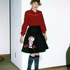 Lisa and my old owl skirt