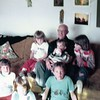 Great grandchildren with Gpa Lawrence
