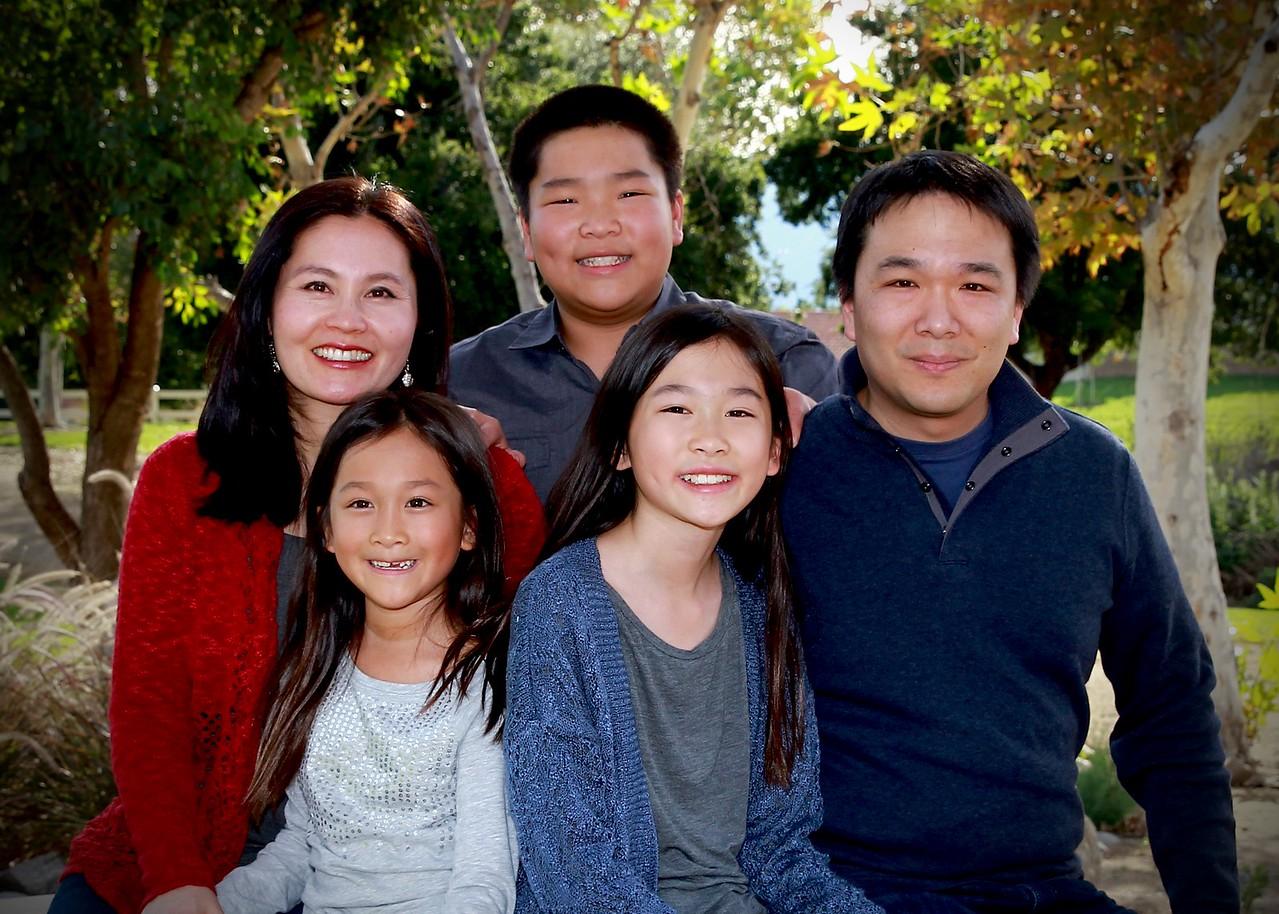 family photo close up