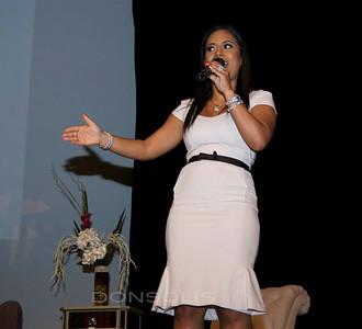 Lisa Nicole speaking at the WEN Experience Launch NYC Photo Credit: Oscar Garifuna Barack Solis
