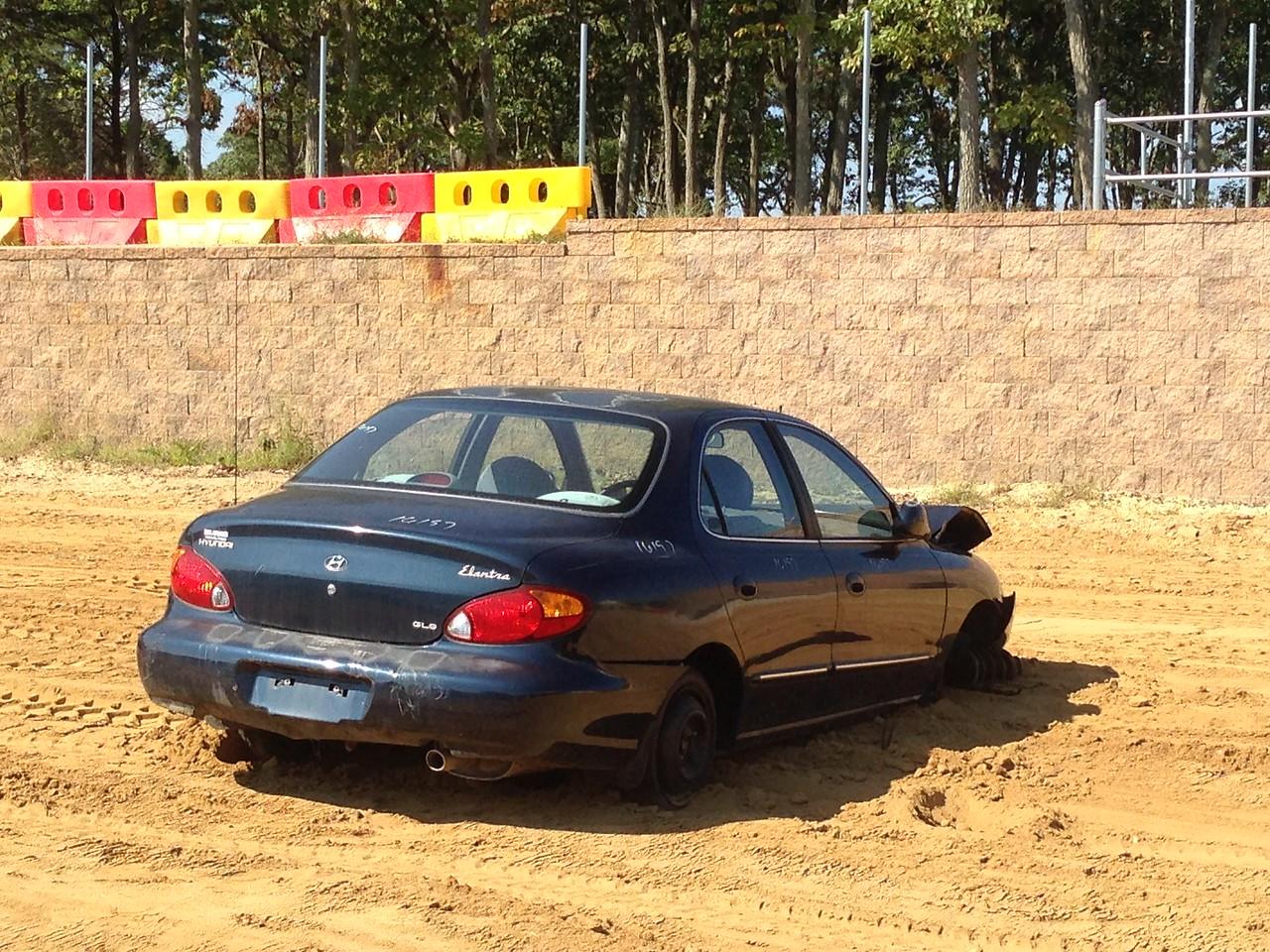 Hyundai Elantra. Before.
