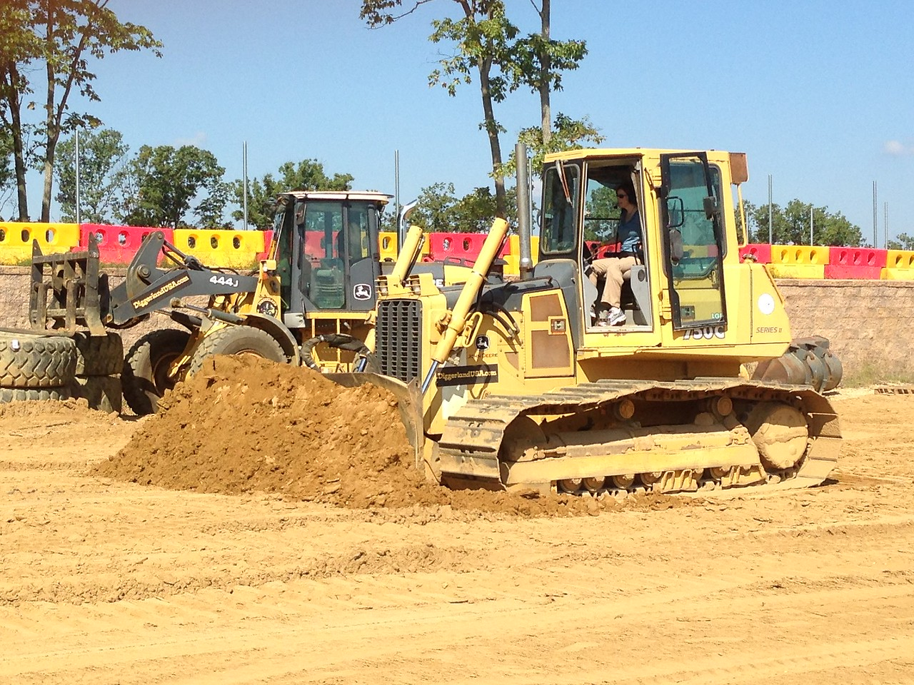Getting started with the dozer!