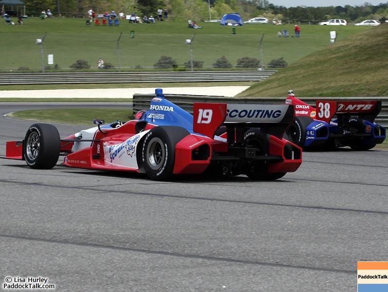 2012 IndyCar Friday action from Barber Park. Credit: PaddockTalk/Lisa Hurley
