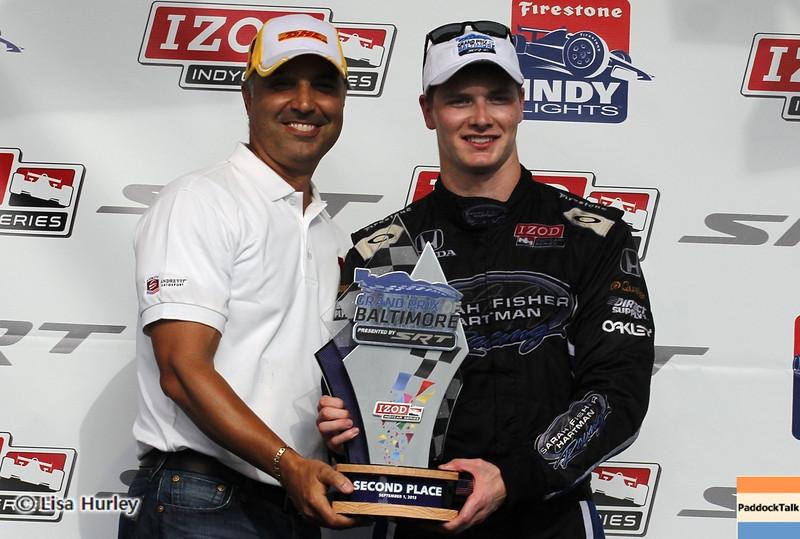 September 1: Josef Newgarden after the IndyCar Grand Prix of Baltimore.