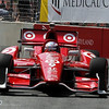 August 31: Scott Dixon during IndyCar qualifying for the Grand Prix of Baltimore.