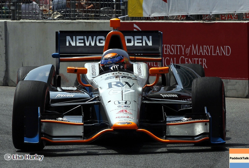 August 31: Josef Newgarden during IndyCar qualifying for the Grand Prix of Baltimore.