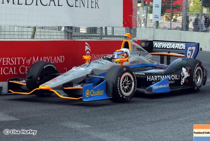 September 1: Josef Newgarden during the IndyCar Grand Prix of Baltimore.