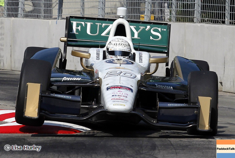 September 1: Ed Carpenter during the IndyCar Grand Prix of Baltimore.