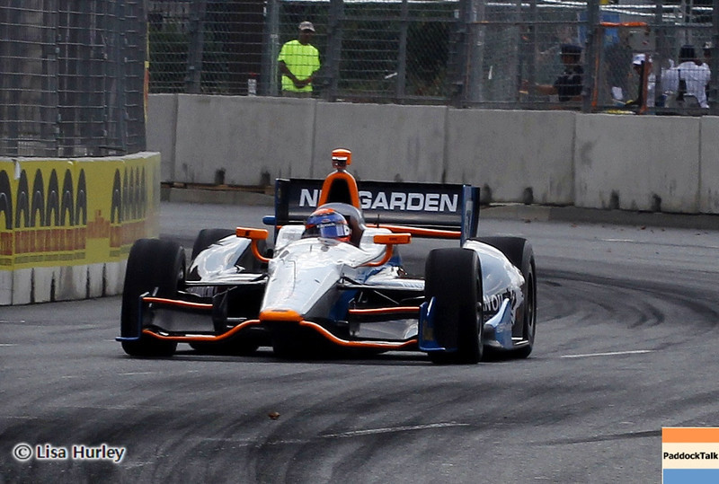 August 30: Josef Newgarden during IndyCar practice for the Grand Prix of Baltimore.