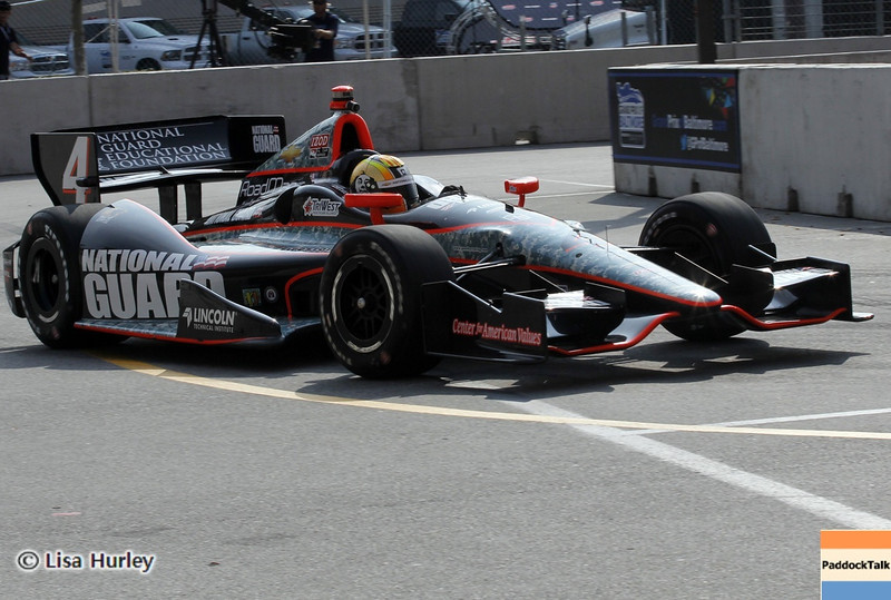 September 1: Oriol Servia during the IndyCar Grand Prix of Baltimore.