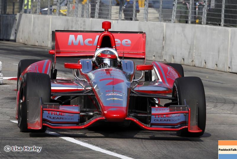 September 1: Sebastien Bourdais during the IndyCar Grand Prix of Baltimore.