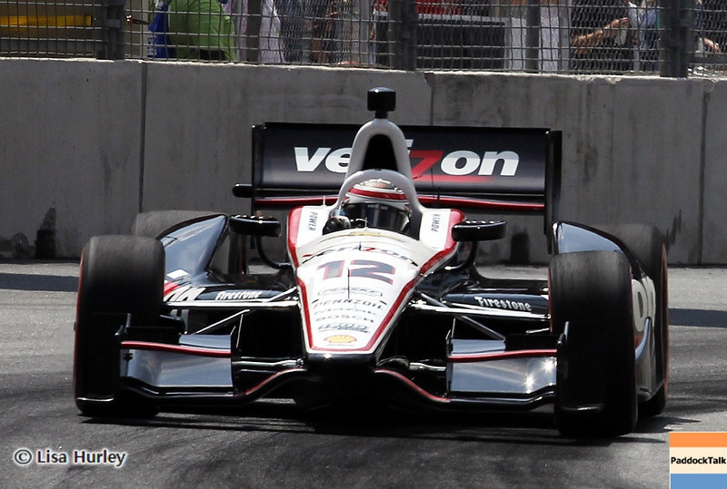 August 31: Will Power during IndyCar qualifying for the Grand Prix of Baltimore.