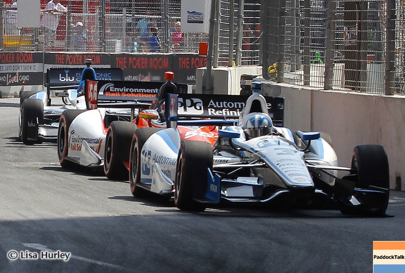 September 1: Tracak action during the IndyCar Grand Prix of Baltimore.