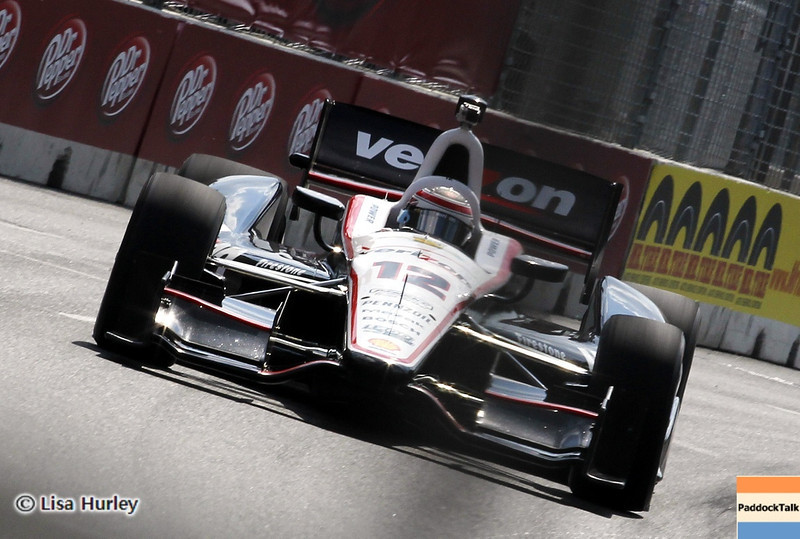 August 30: Will Power during IndyCar practice for the Grand Prix of Baltimore.