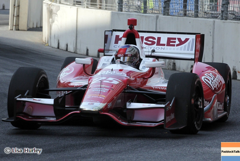 September 1: Marco Andretti during the IndyCar Grand Prix of Baltimore.