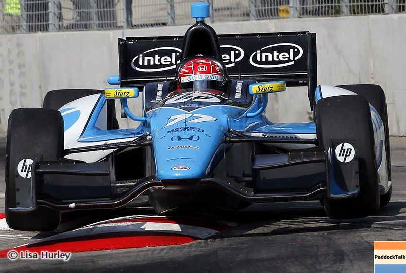 September 1: Simon Pagenaud during the IndyCar Grand Prix of Baltimore.