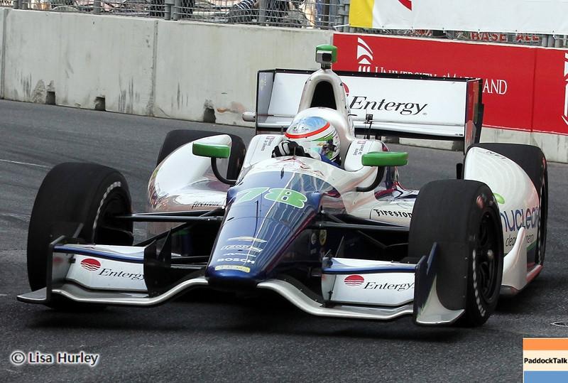 September 1: Simona de Silvestro during the IndyCar Grand Prix of Baltimore.