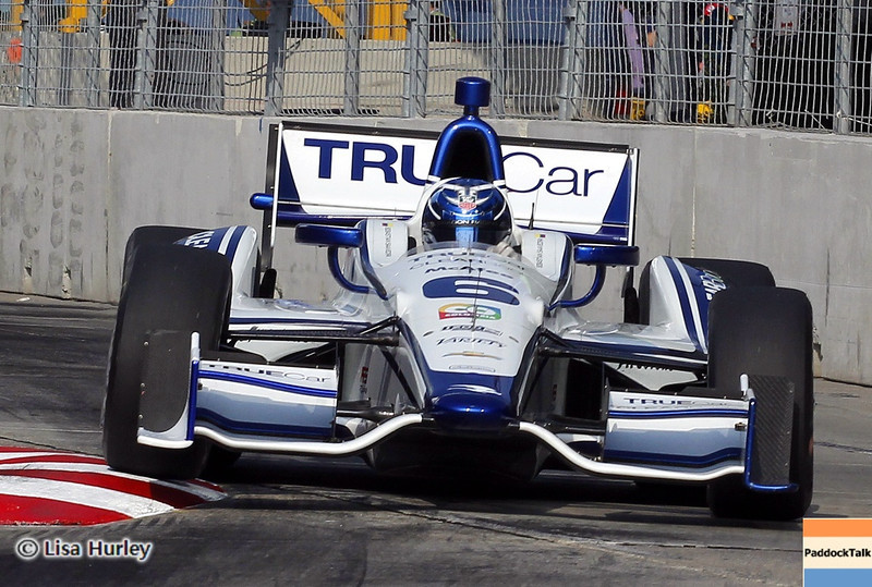 August 31: Sebastian Saavedra during IndyCar qualifying for the Grand Prix of Baltimore.