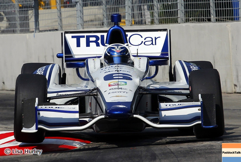 September 1: Sebastian Saavedra during the IndyCar Grand Prix of Baltimore.