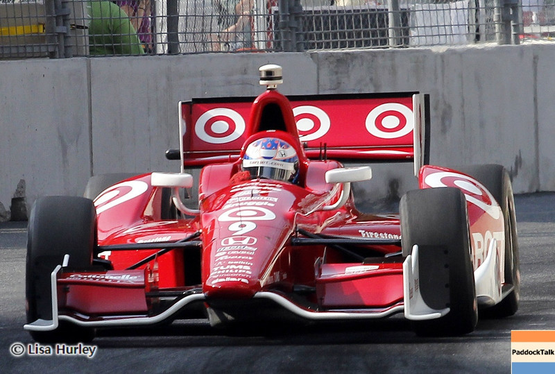 September 1: Scott Dixon during the IndyCar Grand Prix of Baltimore.