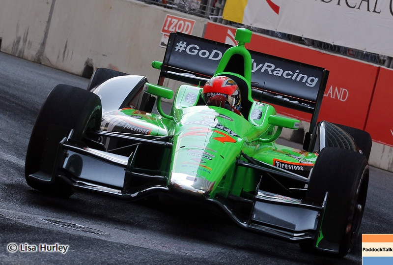 September 1: James Hinchcliffe during the IndyCar Grand Prix of Baltimore.