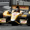 August 31: Ryan Hunter-Reay during IndyCar qualifying for the Grand Prix of Baltimore.