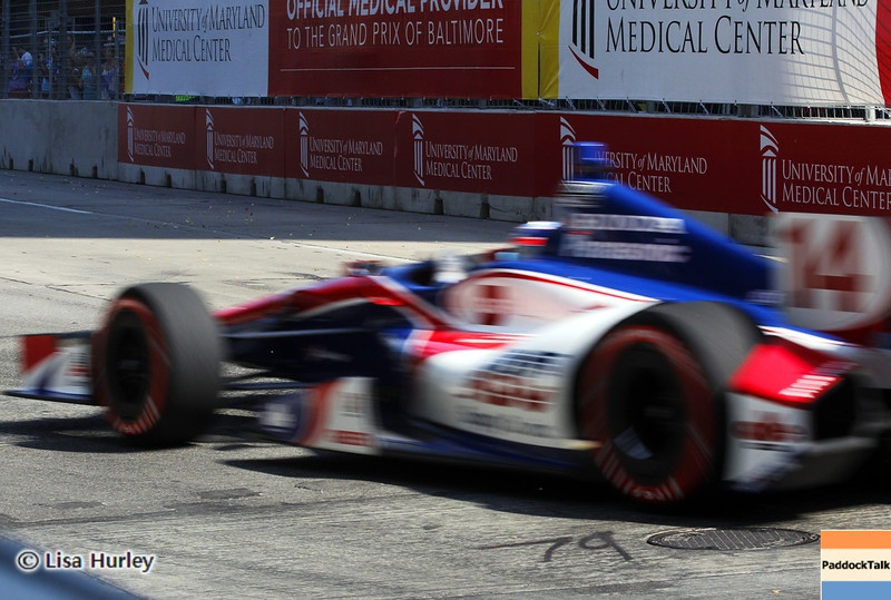 September 1: Takuma Sato during the IndyCar Grand Prix of Baltimore.