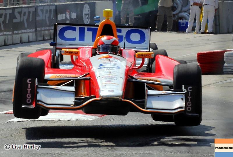 September 1: E.J. Viso during the IndyCar Grand Prix of Baltimore.