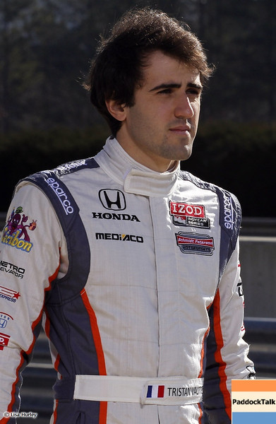 MARCH 12: Tristan Vautier at IndyCar Spring Training at Barber Motorsports Park.