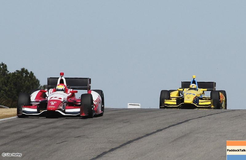 MARCH 12: Track action at IndyCar Spring Training at Barber Motorsports Park.