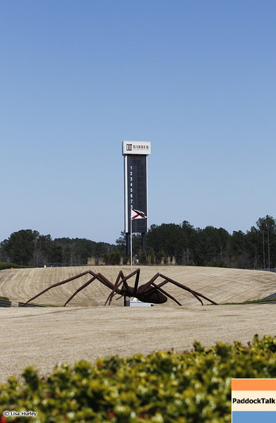 MARCH 12: The spiders at IndyCar Spring Training at Barber Motorsports Park.