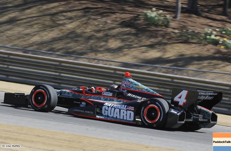 MARCH 13: JR Hildebrand at IndyCar Spring Training at Barber Motorsports Park.