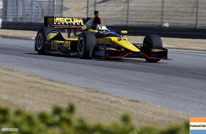 MARCH 12: Oriol Servia at IndyCar Spring Training at Barber Motorsports Park.