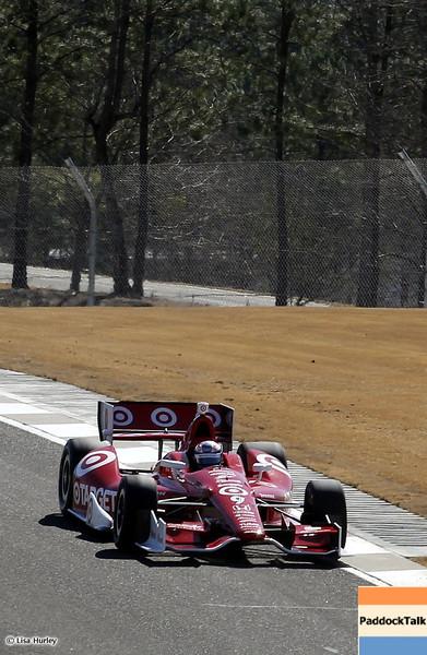 MARCH 13: Scott Dixon at IndyCar Spring Training at Barber Motorsports Park.