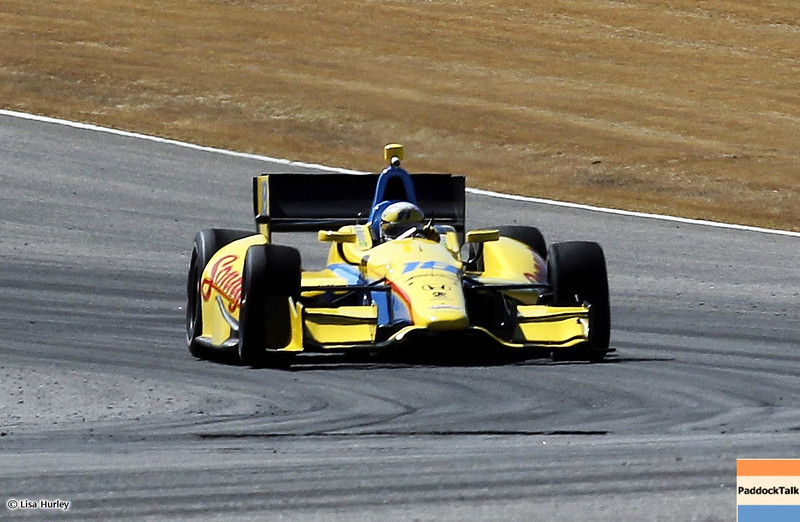 MARCH 13: Ana Beatriz at IndyCar Spring Training at Barber Motorsports Park.