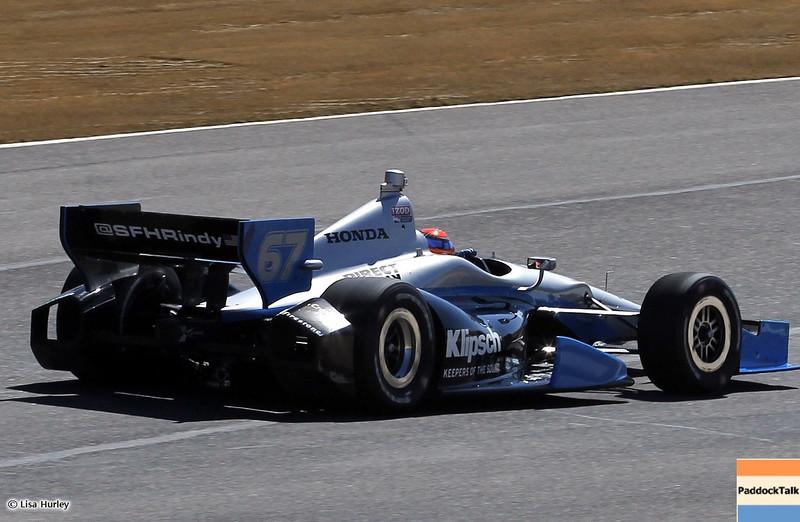 MARCH 12: Josef Newgarden at IndyCar Spring Training at Barber Motorsports Park.
